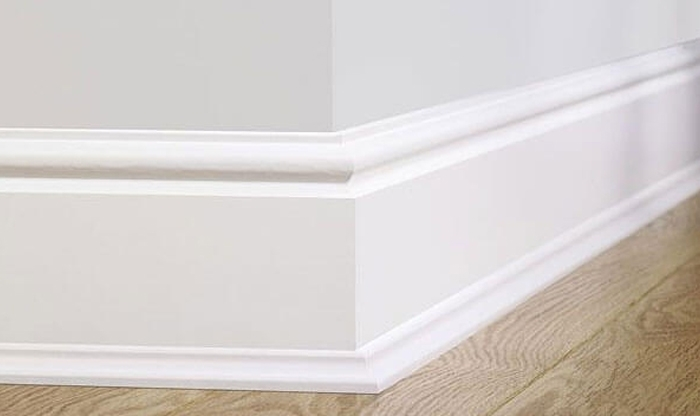 What is meant by skirting boards and their importance?