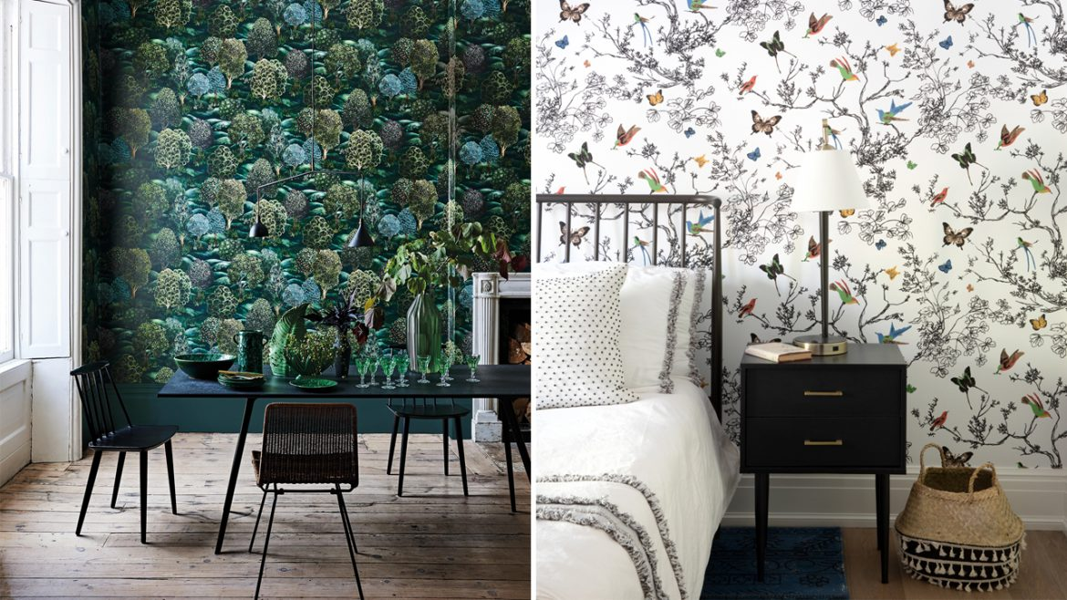 WHAT ARE THE VARIOUS DESIGNS OF THE WALL PAPERS IN SINGAPORE?
